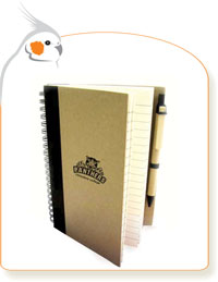 Biodegradable Notebook & Pen