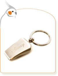 Rescue Whistle Keychain